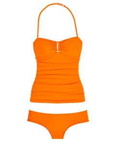 Alloy V-Ring Bandeau Tankini and Cheeky Hipster