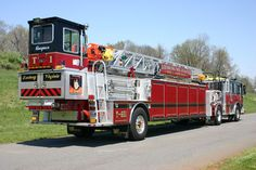 Leesburg, Virginia Seagrave ladder