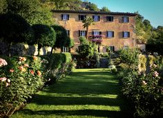 Bramasole, Francis Mayes' Tuscan home as featured in her book 'Under the Tuscan Sun'