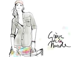 Another lesson in simplicity from Garance - click through to see that all you need is...