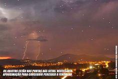 Unidentified Flying Object o Unknown Flying Object: UFO fotografati a Santana de Parnaiba