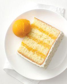 Passion Fruit and Lime Cake - Martha Stewart Weddings Alcohol-free