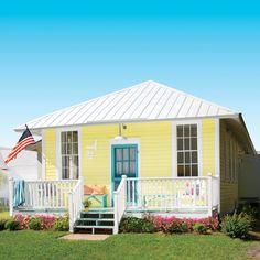 Little Yellow Beach Cottage Tour - Coastal Living