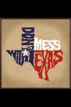 DO NOT MESS WITH TEXAS or anyone who has a Texan's personality I might add :P #VisibleChanges #TexasSalon #HoustonSalon #AustinSalon #SanAntonioSalon #DallasSalon