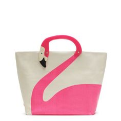 Tropica Jezibel by Kate Spade #Tote #Flamingo #Kate_Spade