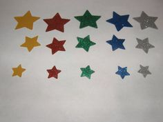 50 Space Stars by ang744 on Etsy, $3.00