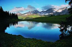 10-Seen-Plausch. Eine herrliche Gebirgswanderung. Arosa. Graubünden. / A wonderful mountain hike with 10 lakes. Arosa. Switzerland.