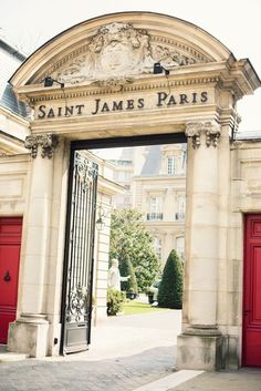 Hotel Saint James, Paris.