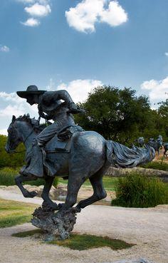Pioneer Plaza. Dallas, Texas.