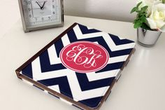 iPad case LOVE...minus the monogram! Monograms are for bedding, linens and towels