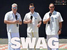 Former Australian players in South Indian traditional dress (L-R) Dean Jones Brett Lee  and Matthew Hayden - http://ift.tt/1ZZ3e4d