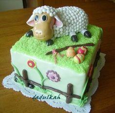Veľkonočná s ovečkou