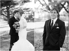 Bride and Groom - Berkshire County Fall Wedding - Tricia McCormack Photography