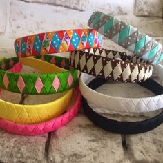 Woven headband HOW TO/TUTORIAL :) How to make woven headbands! CUTE