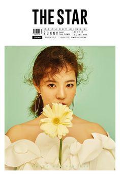 The Star Korea Magazine March 2017 K-pop Girls Generation SNSD SUNNY Cover