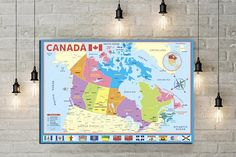 World map wall decor map us map canada map art world map poster map canada map print poster map poster map print map art map decor poster art decor gumiabroncs Choice Image