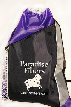 Paradise Fibers Project Bag