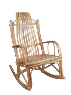 Beautiful Our Amish Bentwood Rocker Made From Wormy Maple Is A Beautiful Handmade  Item And Will Last For Generations.