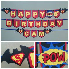 Batman vs Superman Banner, Superman vs Batman banner Check out this item in my Etsy shop https://www.etsy.com/listing/464963835/batman-vs-superman-banner-batman-banner