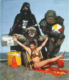 Star Wars, Return of The Jedi, Behind The scenes...
