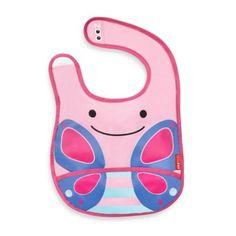 SKIP*HOP® Zoo Tuck-Away Bib in Butterfly - buybuyBaby.com