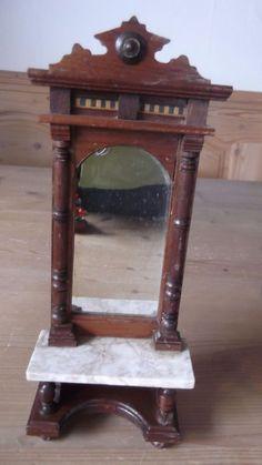 Puppenstube Gründerzeit Spiegelkommode mit Marmorplatte   eBay