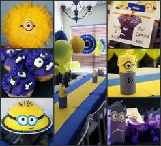 This is from the Despicable Me party for my son's 6th birthday.