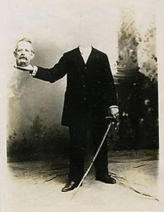 Des vieux portraits de gens décapités vieux portrait sans tete decapite 14 photographie histoire bonus