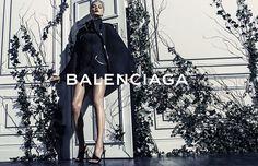 Daria Werbowy by Steven Klein for Balenciaga Spring/Summer 2014   The Fashionography