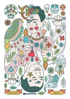 Alba Zapata Arance #illustration