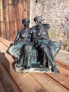 J. Clésinger 1861  Bronze Skulptur F. Barbedienne  Fundstück