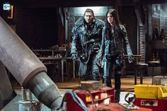 The 100 3x15 Perverse Instantiation: Part One  Prince Roan and Octavia Blake