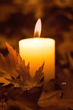 Autumn's Glow - Photography Wallpaper ID 2015024 - Desktop Nexus Abstract Candels, Candle Lanterns, Pillar Candles, Photo Bougie, Candle In The Wind, Beautiful Gif, Belle Photo, Hd Wallpaper, Desktop Wallpapers