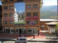 Facade i Thimphu