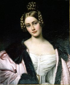 Carolina, Countess of Holnstein by Joseph Stieler