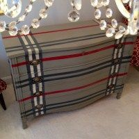 Burberry Inspired Dresser