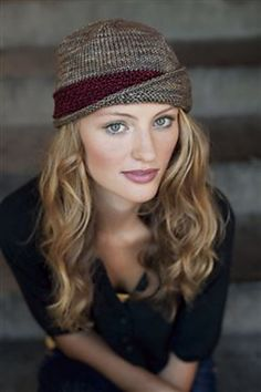 Ravelry: Lucy Hat pattern by Carina Spencer. Love this hat.