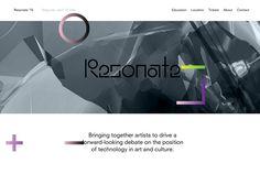 Resonate.io 2015 | CSS Website