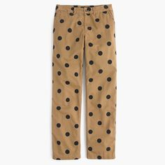 9faa51d98c Boyfriend chino pant in polka dot
