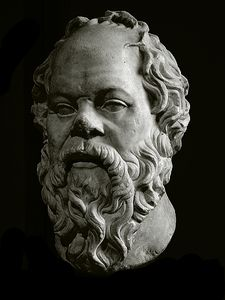"""One of the great known philosophers throughout time is Socrates. During the accent Greek times, Socrates had indulged upon seeking wisdom. The play """"The Trail and Death of Socrates"""" by Plato, dramatically explains who a philosopher is, what Socrates wa. Roman Sculpture, Sculpture Art, Ancient Art, Ancient History, Sculpture Romaine, Socrates Quotes, Wisdom Quotes, Art Romain, Portrait"""