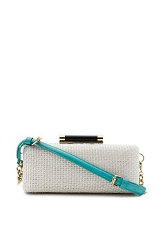 DVF | Our popular Tonda is updated for the season in a textured raffia. on.dvf.com/18dA5uK