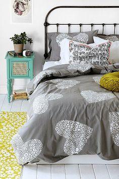 acolchado, cama, mesita (CASITA)