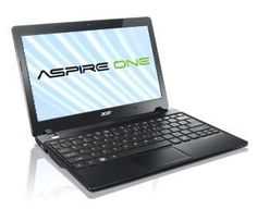 "Acer Aspire One AO725-0802 11.6"" Netbook (2GB RAM, 320GB Hard Drive, Windows 7 HP 64 bits) Volcano Black by Acer. $315.00. Perfect portability, perfect usability: The Aspire® One AO725 Netbook is less than 1"" slim and under 3 lbs., yet this thin & light PC has dual-core AMD accelerated processing and the power of Genuine Windows® 7 Home Premium. A 11.6"" HD display, full-size keyboard and superb connectivity provide ease of use to go with its stunning Volcano Black chassi..."