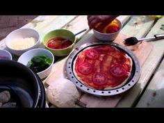 Pizza bakken op de Cobb (pizzaoven)