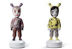 """¿Qué es """"The guest"""" en porcelana Lladró, Jaime Hayon  http://www.cocowif.com/es/2015/08/18/que-es-the-guest-en-porcelana-lladro-jaime-hayon/"""