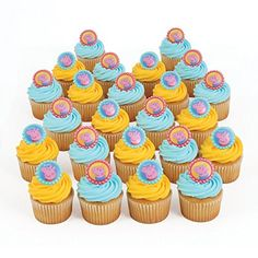 Peppa Pig 24 Cupcake Topper Rings Bakery Crafts http://www.amazon.com/dp/B00K59E5BQ/ref=cm_sw_r_pi_dp_YEVMub1H4Q6AT