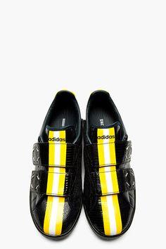 8c67b6af97b8 RAF SIMONS BLACK EMBOSSED PYTHON ADIDAS edition sneakers Men s Footwear