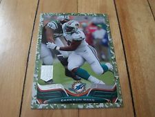 2013 Topps #226 CAMERON WAKE Military Camo Parallel Numbered /399 Dolphins Rare