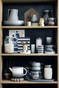 new homewares collection from ferm living / sfgirlbybay / sfgirlbybay Kitchen Interior, Kitchen Design, Sweet Home, Deco Design, Kitchen Shelves, Kitchen Accessories, Interior Styling, Cosy Interior, Home Kitchens
