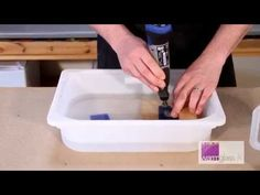 ▶ Tutorial... Drilling a Hole in Glass using a Dremel - YouTube